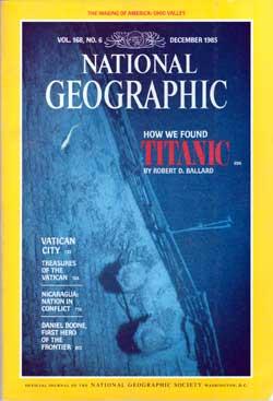 Les secrets du Titanic affiche